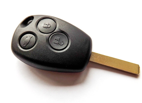 Clio Kangoo 3 Button Key Fob pcf7947 - See Description for Vehicles