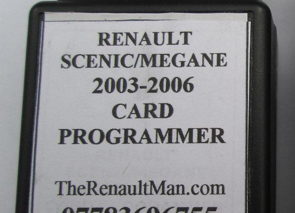 Renault Scenic-Megane 2003-2006 Self Key Programming Device
