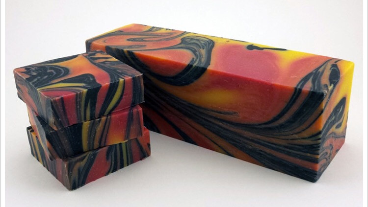 Golden Sunrise Premium Handmade Soap