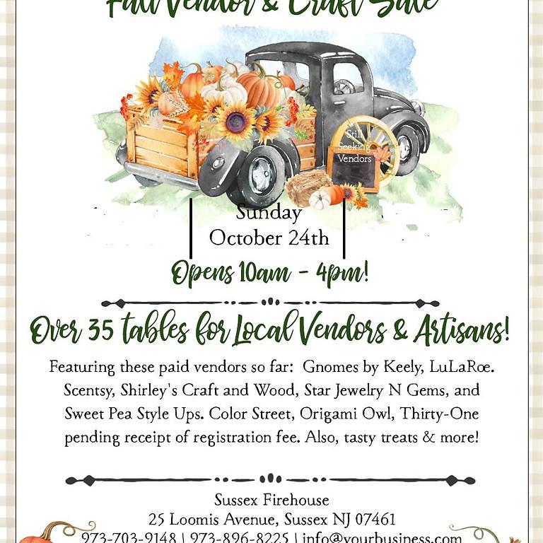 SFD Auxiliary Vendor & Craft Sale