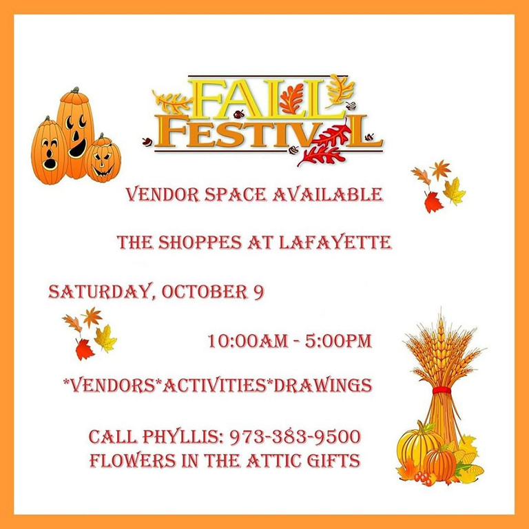 The Shoppes at Lafayette Fall Festival
