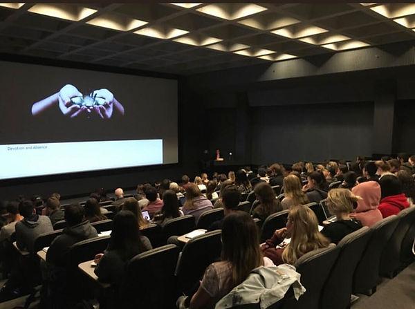 Maryam Tafakory's Lecture/Performance at Colgate University