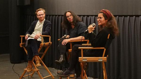 Filmmaker Maryam Tafakory at Anthology Film Archives