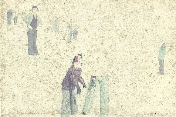 Horizontes brancos #02 (série A Casa)