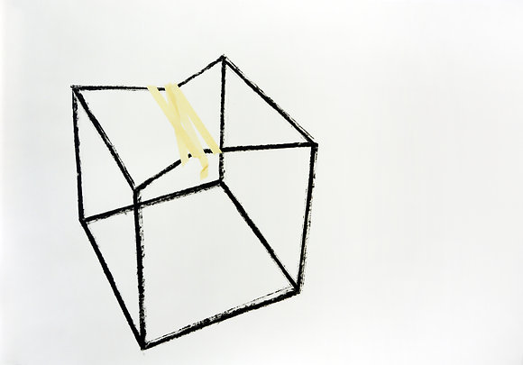 Cube with Tape #13