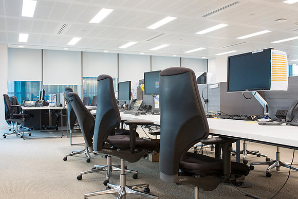 Open plan, Audit, Tax & Advisory Firm fromThe Politics of the Office series
