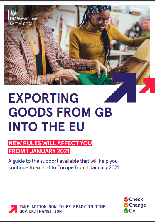 Exporting goods from GB into the EU