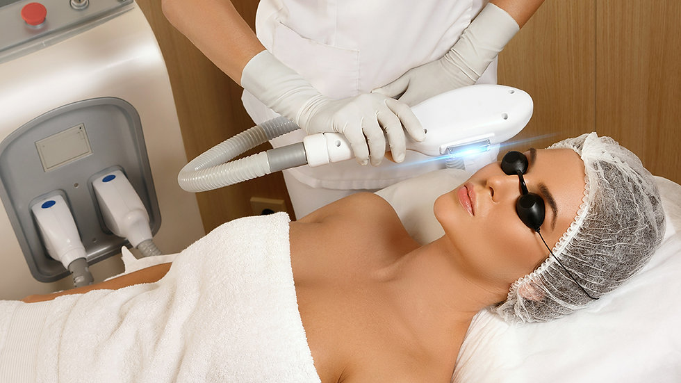 VTCT level 4 Cert. in Laser and IPL treatments