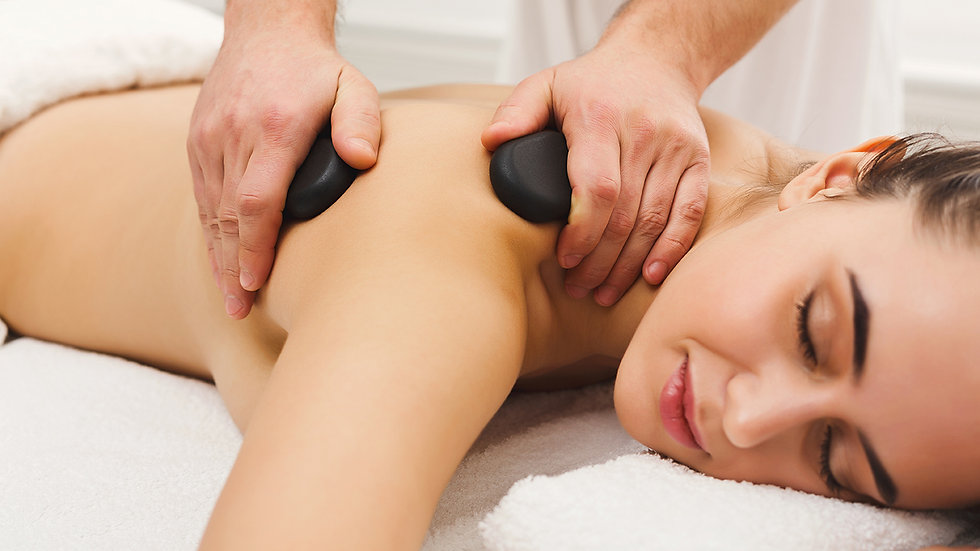VTCT L3 Cert Stone Therapy Massage