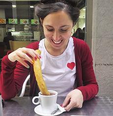 Fanny Oio Séville chocolate y churros