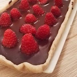 [Food] Tarte choco-framboise homemade 😋