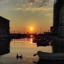 [Roadtrip] Couché de soleil sur Trieste