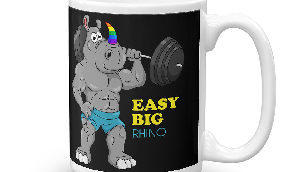EASY BIG RHINO - Mug (15oz)