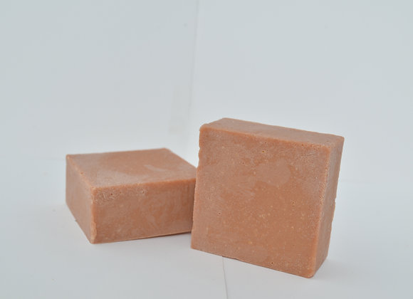 Face Bar: Gentle Rose Clay, Honey & Neem Oil