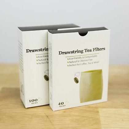 Disposable Drawstring Tea Bag