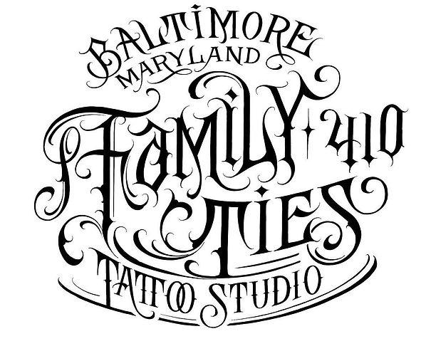 Family Ties Tattoo Studio Logo