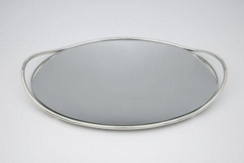 Επάργυρος δίσκος με καθρέφτη ΔΕ-6