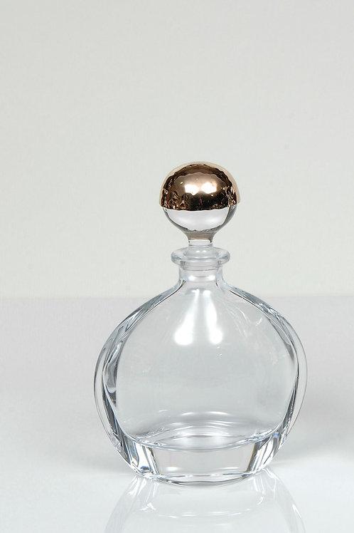 Κρυστάλλινη φιάλη κρασιού με επάργυρο σφυρήλατο πώμα Μ-28