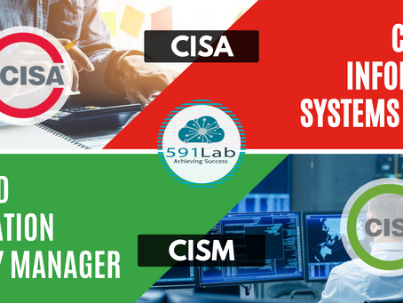 The difference between CISM and CISA