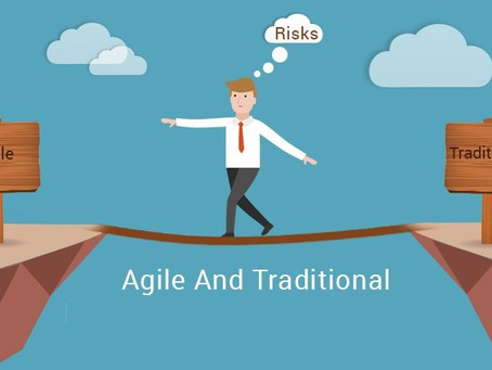 Traditional project management VS agile project management