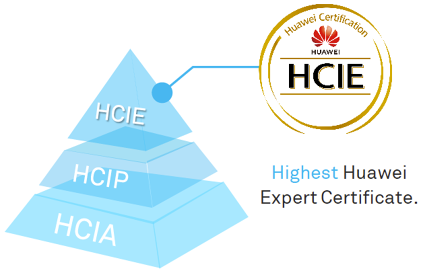 Which tracks does Huawei HCIE certification have?