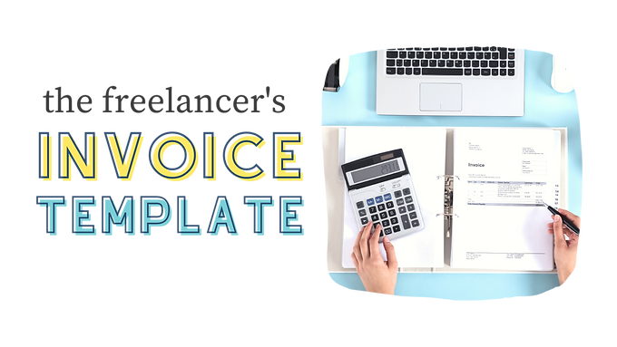 Freelancer Invoice Template