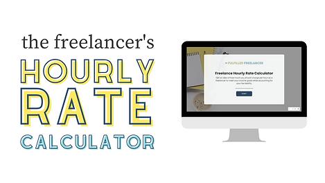 Freelance Hourly Rate Calculator