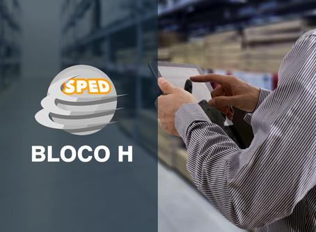 SPED | BLOCO H • Fique atento quando entregar