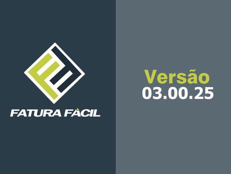 Fatura Fácil | Atualização • Versão 03.00.25