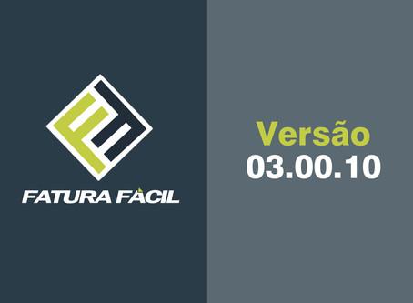 Fatura Fácil | Atualização • Versão 03.00.10