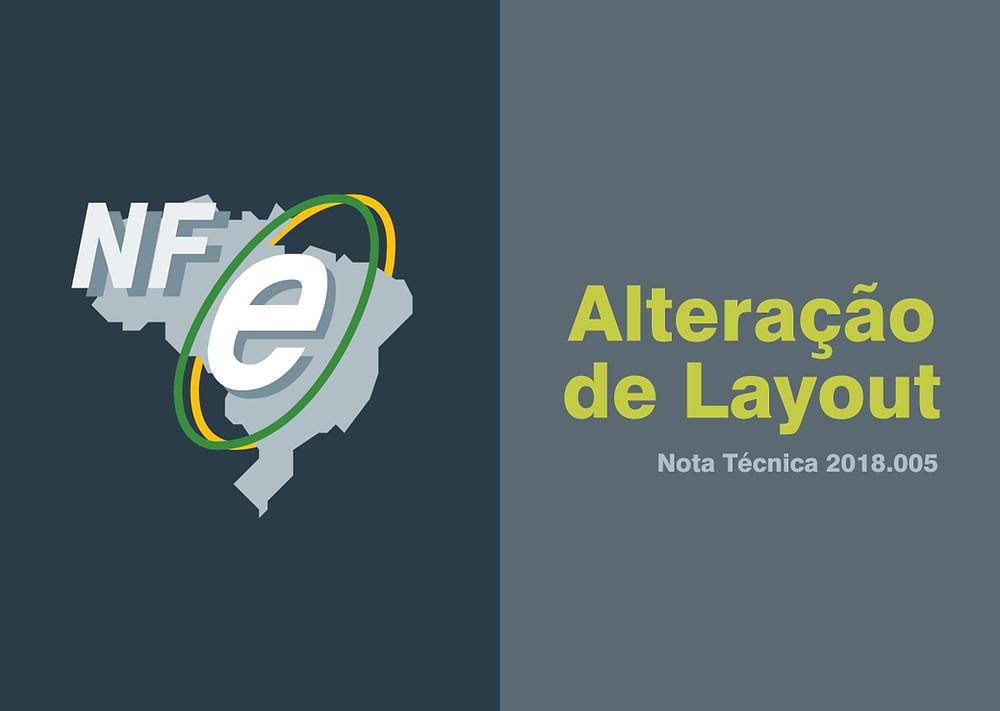 NF-e | Alterações entrarão em vigor a partir de 07 de maio de 2019.
