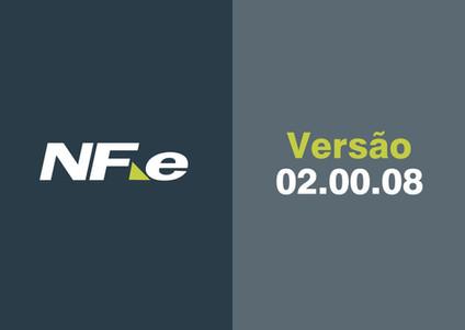 NF-e | Atualização • Versão 02.00.08