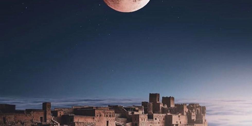 Full moon ancestral ceremony