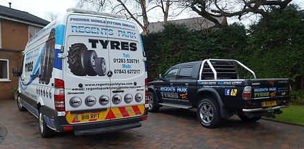 Mobile Tyre Fitting, Tyre Fitting, Burton on Trent, Regents Park Tyres, 01283 526791
