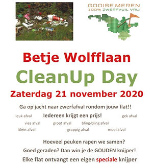 Cleanup Betje Wolfflaan