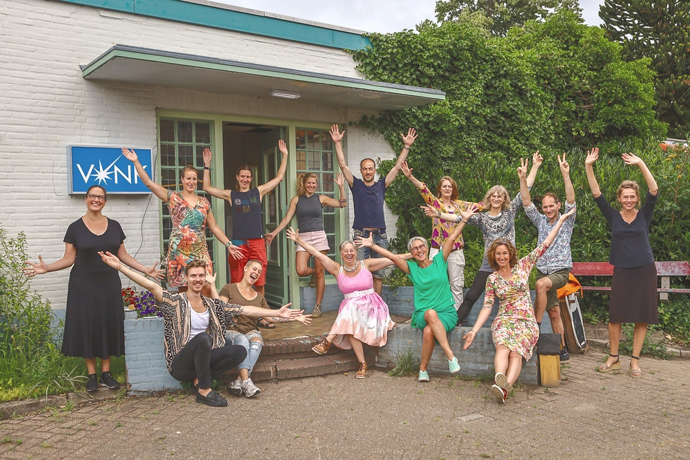 Team van de VONK in Hilversum.