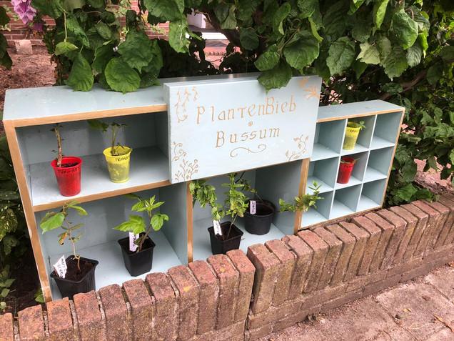 Nieuw in Bussum: de Plantenbieb
