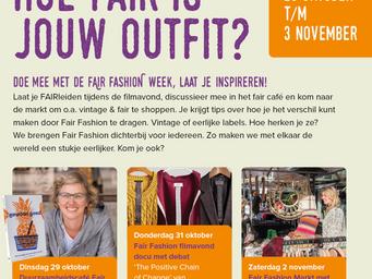 Fairtrade week Gooise Meren: 26 okt-3 nov 2019