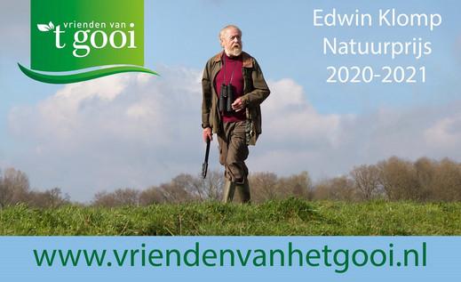 Julianaschool Kwartellaan Bussum winnaar Edwin Klomp Natuurprijs 2020-2021