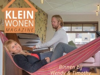 Klein wonen magazine