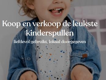 Lokaal online platform tweedehands kinderspullen