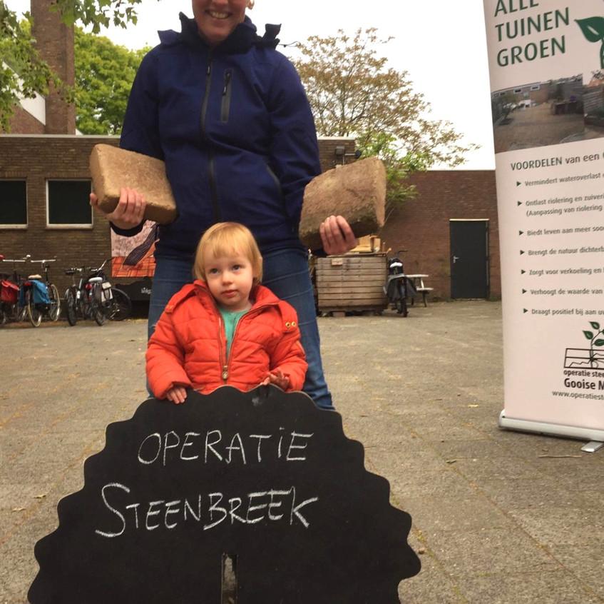 Operatie Steenbreek 17 mei 2019