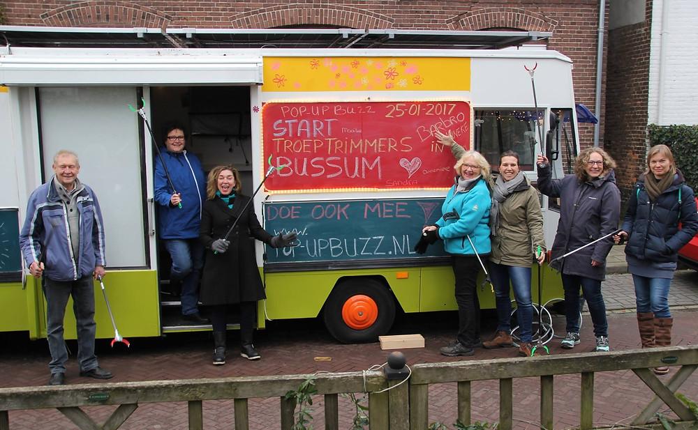pop-up buzz troeptrimmen Bussum