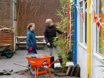 Werkgroep Lokaal Voedsel in actie op NL Doet