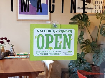 Winkeldeuren dicht voor klimaat