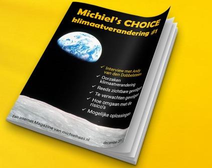 Cover van het e-book: Michiel's Choice - klimaatverandering van Michiel Haas.