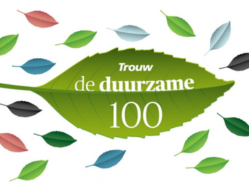 Bussumse Groenteclub op nr. 53 in de 2020 Trouw Duurzame 100