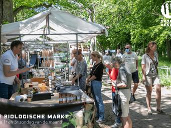 Tweewekelijkse biologische markt bij De Groene Afslag