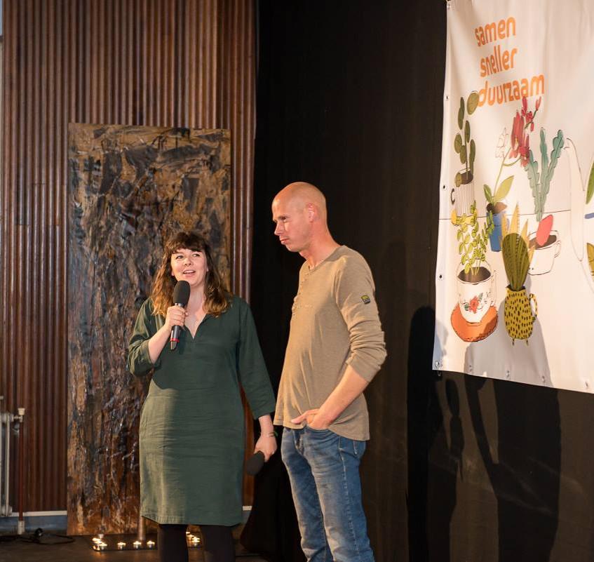 Jessie Kroon en Gijsbert Schutten