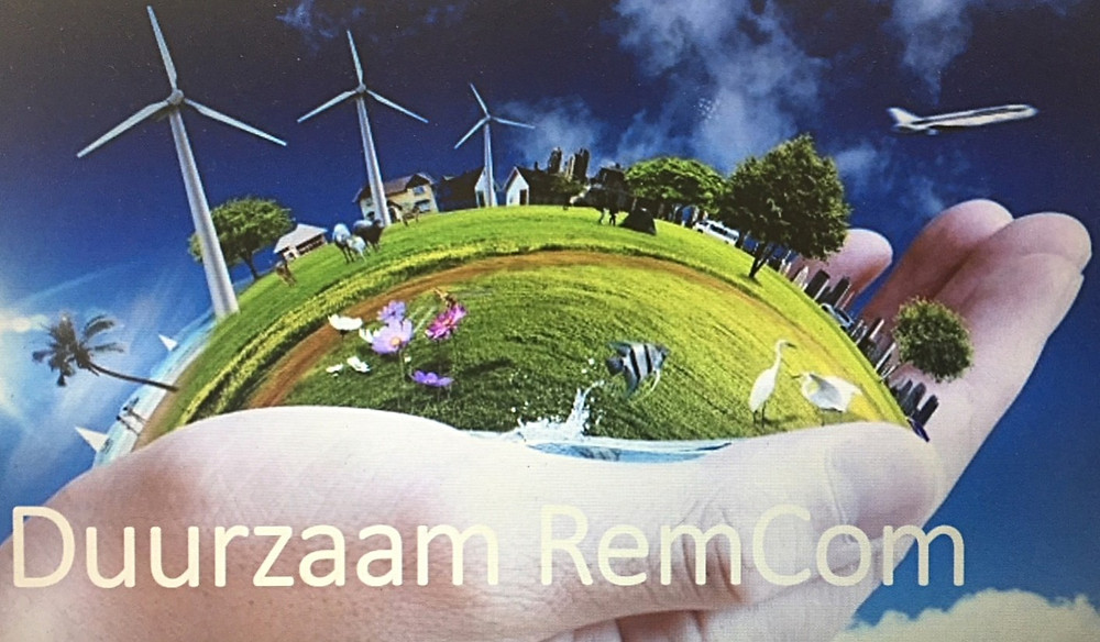 Logo van bewonersplatform RemCom Naarden.